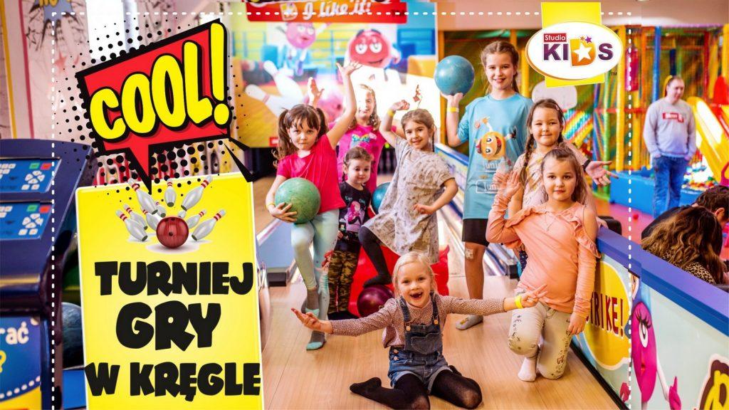 turniej gry w kręgle dla dzieci