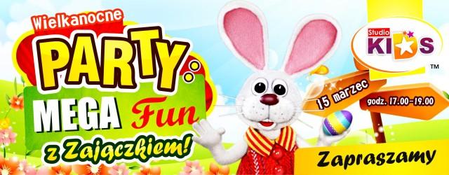 Wielkanocne PARTY – MEGA Fun z Zajączkiem :)