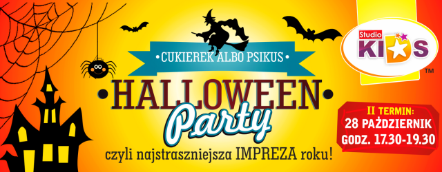 HALLOWEEN Party – II termin :)