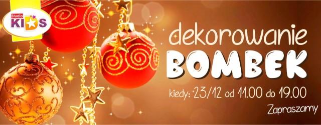 Warsztaty DEKOROWANIA BOMBEK :)