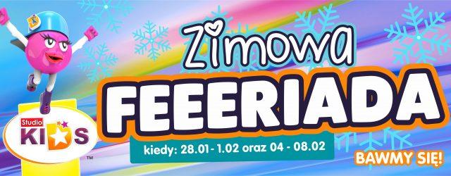 Zimowa FERRRRRIADA w STUDIO KIDS! :)